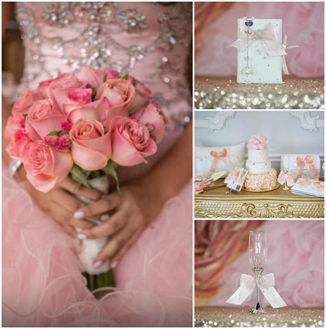 rose themed quince pink quinceanera theme quinceanera ideas by lili s