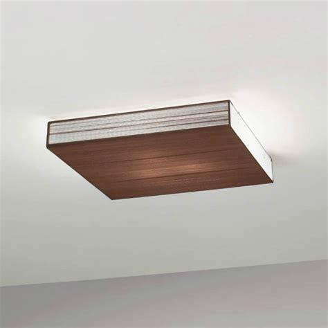 Brown Ceiling Light Axo Light Clavius Plclaviutaxxe27 Brown Semi Flush Ceiling Light