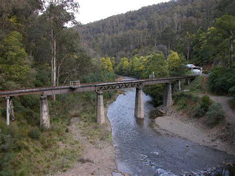 Create House Plans rail bridge over the thomson river walhalla vic austral