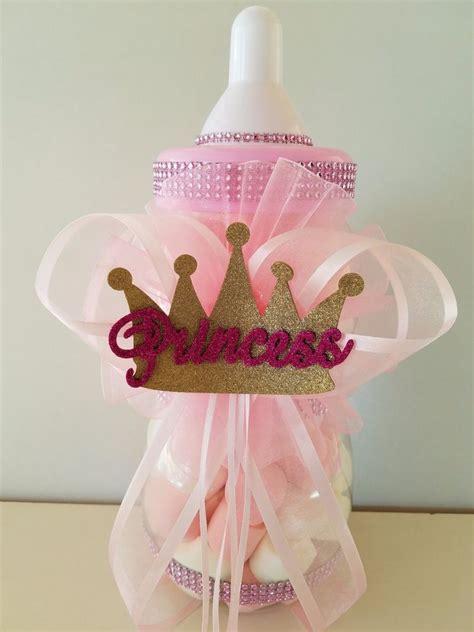Princess Crown Centerpiece Bottle Large 12 Quot Baby Shower Princess Centerpieces For Baby Shower