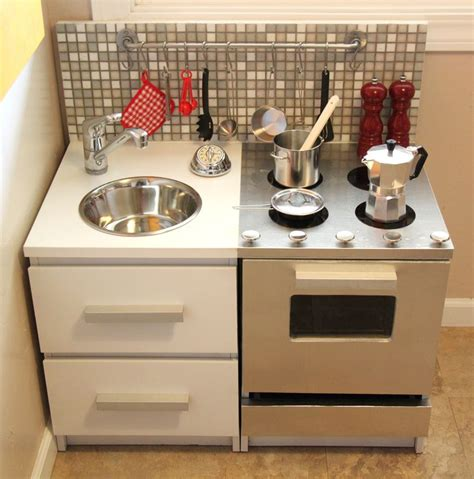 play kitchen from furniture 10 awesome ikea hacks for a kid s room