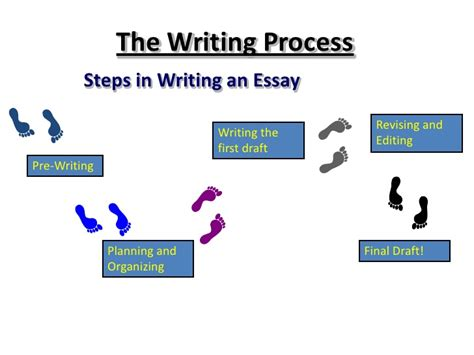 Writing An Essay Ppt by Writing Process Ppt And Assignment