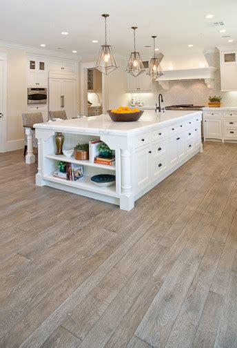 Custom White Oak Hardwood Floors   Traditional   Kitchen   Orange County   by Gaetano Hardwood