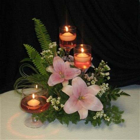 wedding flower centerpieces with candles best wedding ideas candle wedding centerpieces inspirations