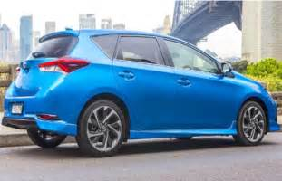 Toyota Hatchback 2018 Toyota Corolla Hatchback Specs And Review Toyota