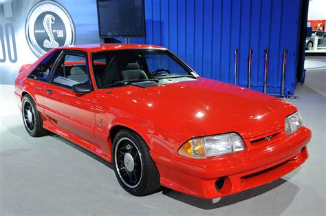 Cobra R Auto by Photo Gallery 1993 Ford Mustang Svt Cobra R At The