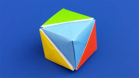 origami moving cubes origami origami modular cube hd modular