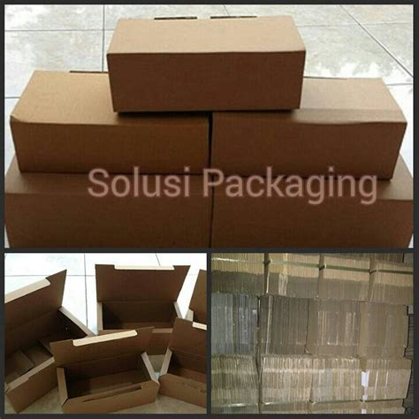 Kardus Polos Box Gelombang Wall Corrugated Box jual kardus kecil kardus packing box dus 23 x 14 x 9 solusi packaging