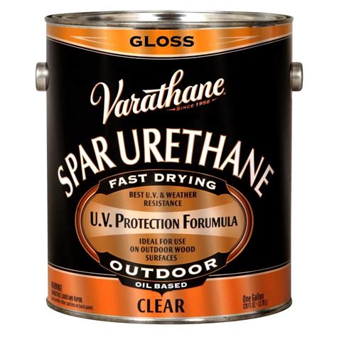 Varathane 1 gal. Clear Gloss 275 VOC Oil Based Exterior