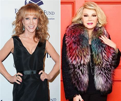 Joan Rivers Replaced By Rinna On Carpet by Kathy Griffin On Fashion Replacing Joan