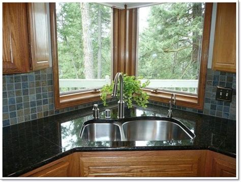 kitchen design with windows best 25 corner kitchen sinks ideas on