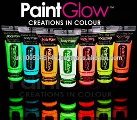 glow in the paint by numbers glow in the paints 6 neon colours and 1