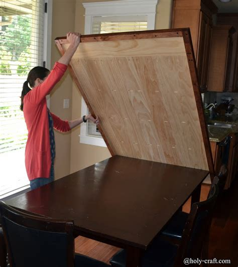 remodelaholic how to build a removable planked table top