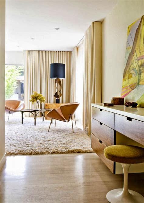 adding bright pops  color  modern mid century home