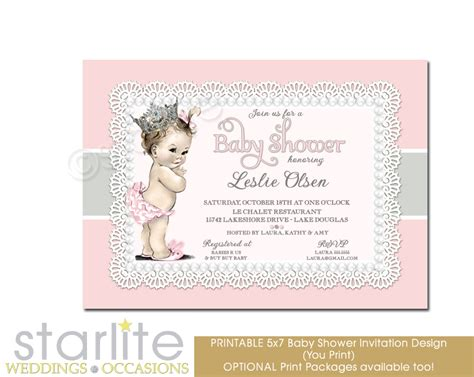 Vintage Baby Shower Invitations by Vintage Baby Baby Shower Invitation