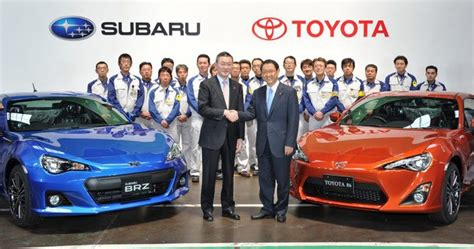 we ask toyota and subaru about may s claim that