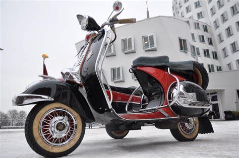 Motorrad Club D Sseldorf by Vespa T150 Gespann Modellnews