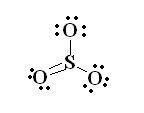 sulfur lewis dot diagram sulfur trioxide lewis structure