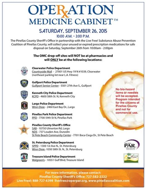 Operation Medicine Cabinet by 15 217 Operation Medicine Cabinet Event Scheduled For