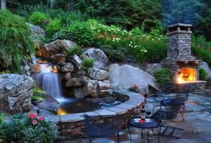 backyard waterfall designs backyard waterfall design ideas landscaping network