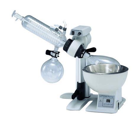 Rotary Vaccum Evaporator cole parmer rotary evaporator system diagonal 230 vac from