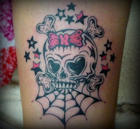 spider web and rose tattoos girly sleeve spider web and a bow the