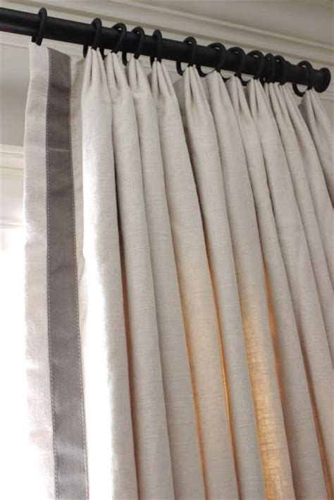 curtain braids trimmings triple europleat curtains and wide braid border