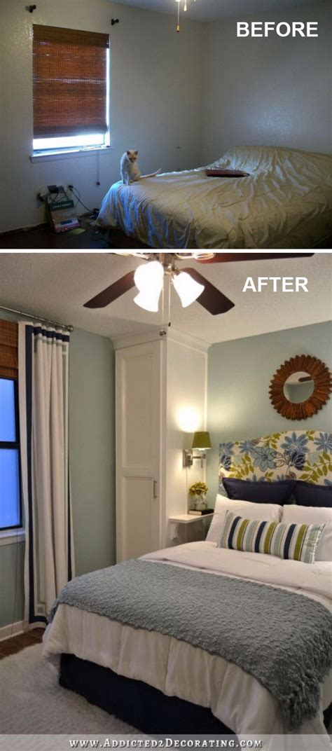 How To Change Things Up In The Bedroom by Creative Ways To Make Your Small Bedroom Look Bigger Hative