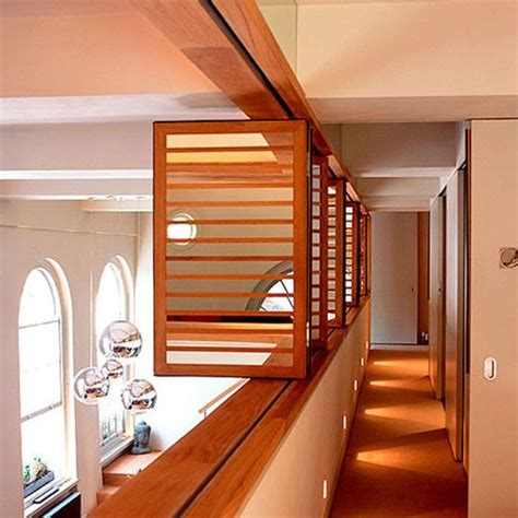 bedroom with mezzanine floor new home interior design modern hallway on a mezzanine