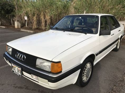 automotive service manuals 1987 audi 4000 parental controls service manual old cars and repair manuals free 1987 audi 4000cs quattro engine control nice