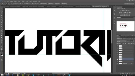 text layout in photoshop tutorial making a text logo in photoshop part 1
