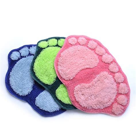 Foot Bath Mat by Anti Slip Footprints Big Bath Floor Mat Bedroom On