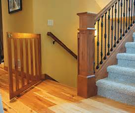Stair Gate Wide Opening by Custom Gates Are An Easy Addition To New Construction And