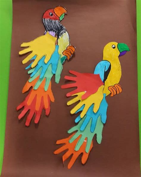 The 21 Best Images About Birds Preschool Crafts - 25 best ideas about parrot craft on daycare