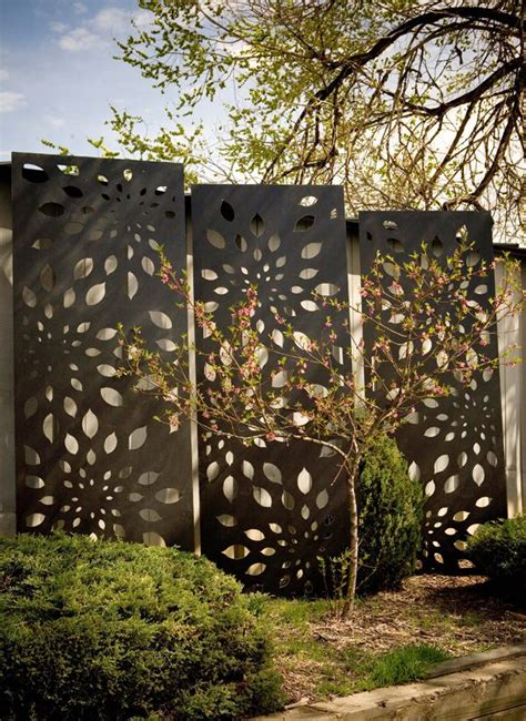 decorative outdoor screens jarrah jungle courtyard ideas outdoor decorative screens