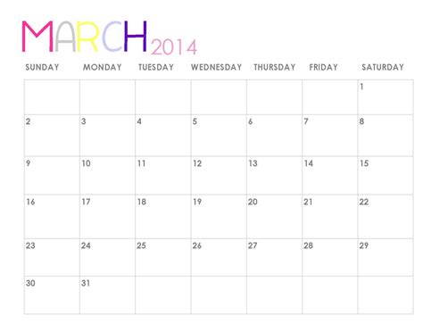 Printable Calendar For April And May 2014