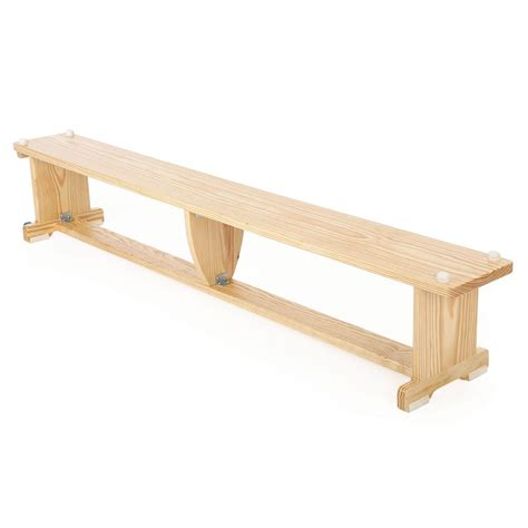 school bench size activbench wooden gym bench