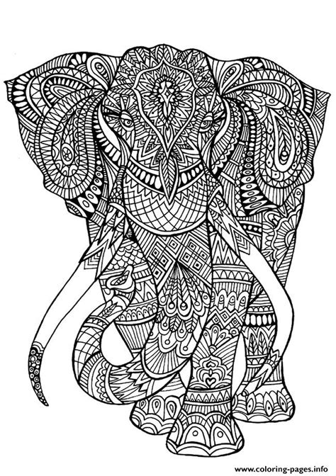 elephant mandala coloring books coloring pages elephant coloring pages printable
