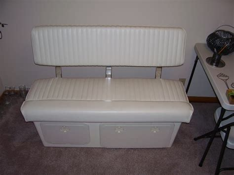 boat stern bench seat sold 2007 parker 2120 never in saltwater trailer