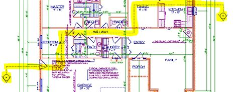 cross section line softplan home design software cross section