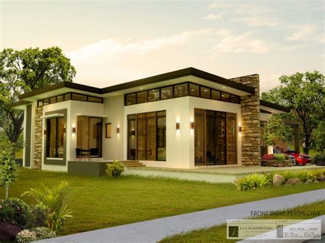 modern house bungalow modern bungalow house design plans small home plans philippines bungalow house plans philippines
