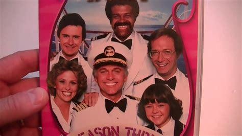 love boat season 3 pr 233 sentation unboxing the love boat season 3 youtube