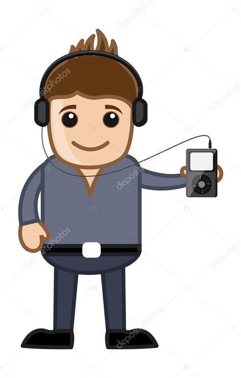 imagenes animadas musica escuchar m 250 sica a trav 233 s de reproductor de mp3