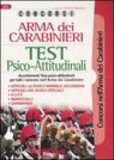 test attitudinali lavoro concorsi arma dei carabinieri test psico attitudinali
