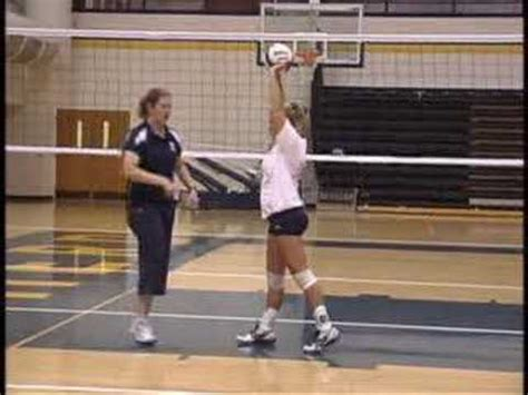 volleyball setter dump drills setting tips from dick powers volleyball training c