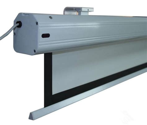 120 inch motorized projector screen 120 quot 16 9 motorized projector screen with remote