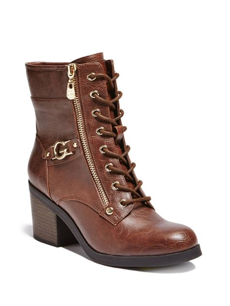 g by guess s cyclone g by guess s anisoni logo combat boots