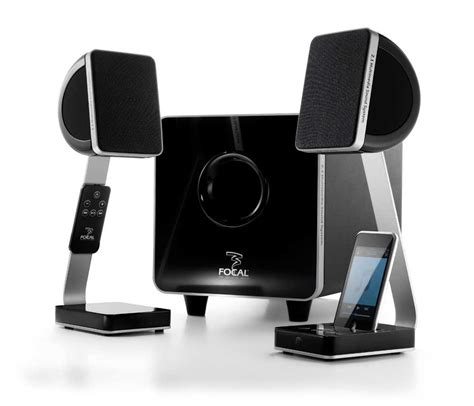 cool computer speakers latest computer gadgets focal xs satellite speakers with