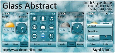 how to themes for nokia c2 06 download free apps glass abstract theme for nokia asha 303 x3 02 c2 06