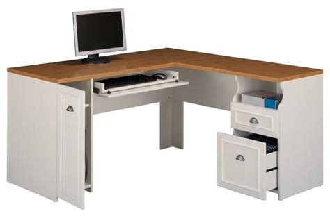 White Desk L Shaped White L Shaped Desk